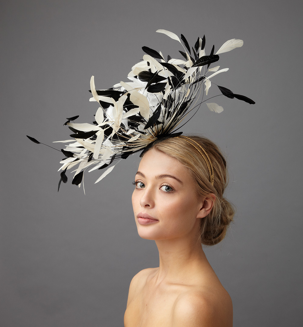 Loren Fascinator by Hostie Hats