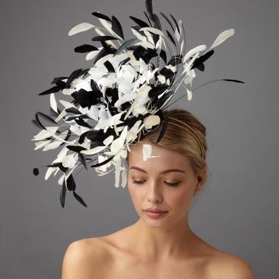 Loren fascinator by Hostie Hats