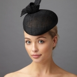 Oberon Pillbox hat by Hostie hats