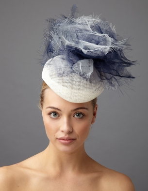 taylor pillbox hat by Hostie Hats