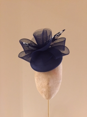 Gardner Pillbox Hat by Hostie Hats