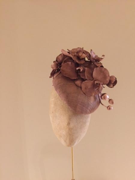 Leigh Pillbox Hat by Hostie Hats