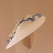 Surrey Twirl Dish Hat by Hostie Hats