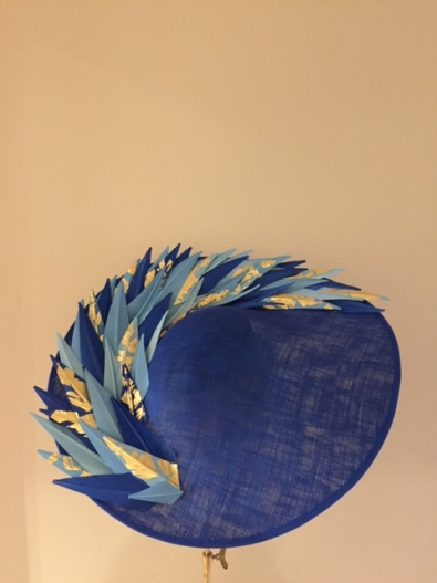 Langham Dish Hat by Hostie Hats