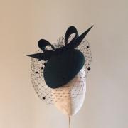 St Anton Pillbox Hat by Hostie Hats