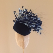 Sandown Pillbox Hat by Hostie Hats
