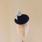 Solar Pillbox Hat by Hostie Hats
