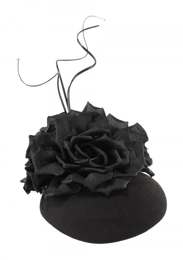 Basil pillbox hat front