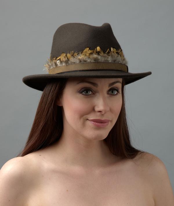 Cinnamon fedora hostie hats