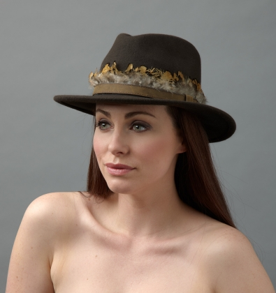 Cinnamon fedora Hostie Hats