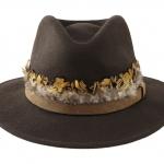 Cinnamon fedora front hostie hats