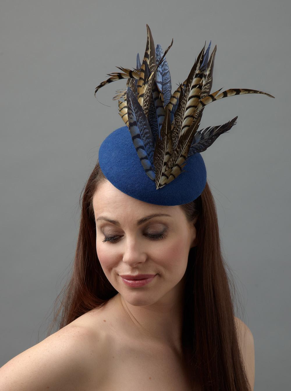 Paprike Pillbox hat hostie hats