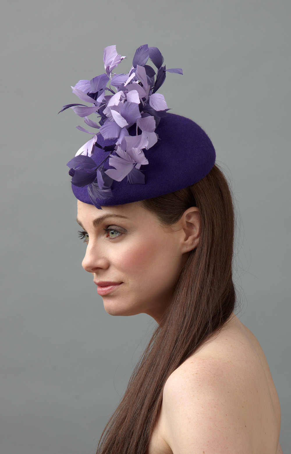 Pepper pillbox hat side hostie hats
