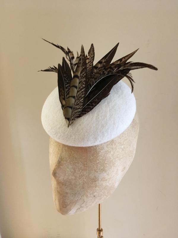 Paprika Pillbox hat