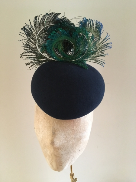 Virgo pillbox hat