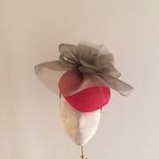 Bacall Pillbox hat