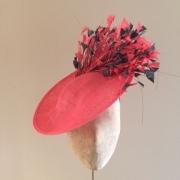 Bardot Hat on 12″ Dish