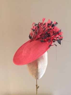 "Bardot Hat on 12"" Dish"
