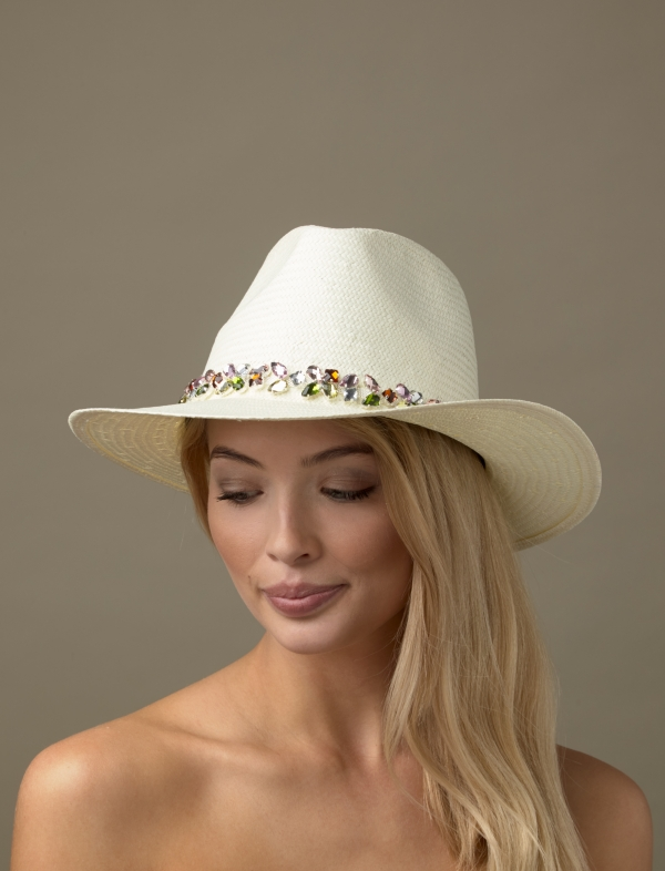 Ouzo Summer Trilby Hat