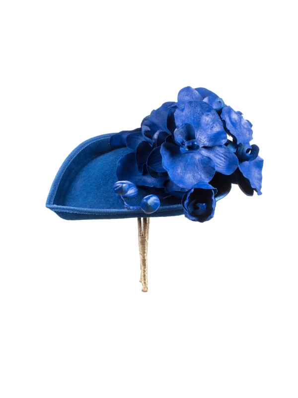 Atwood pillbox hat side view
