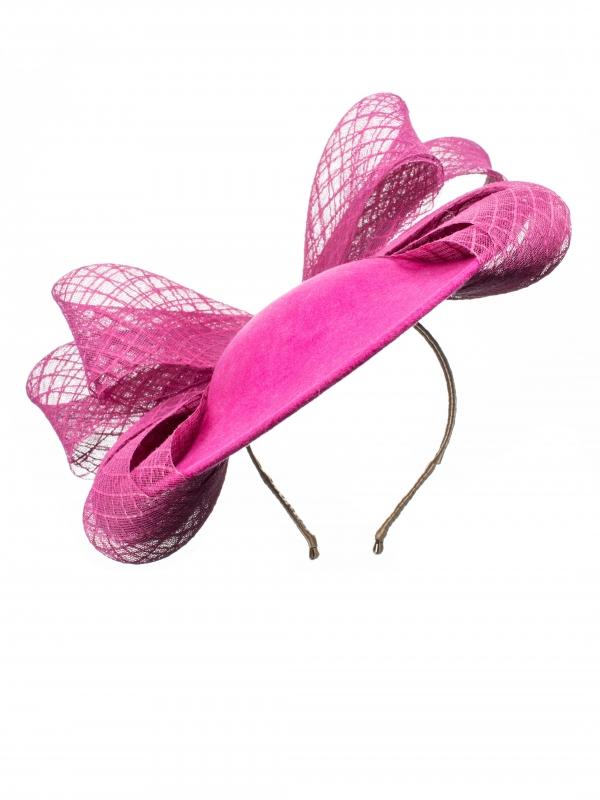 Austen dish hat front view hostie hats