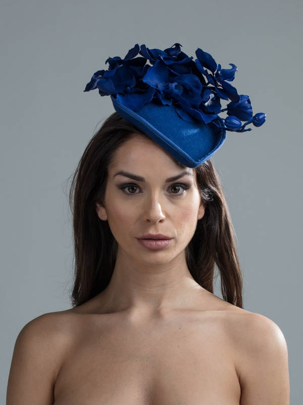Atwood Pill box hat by hostie hats