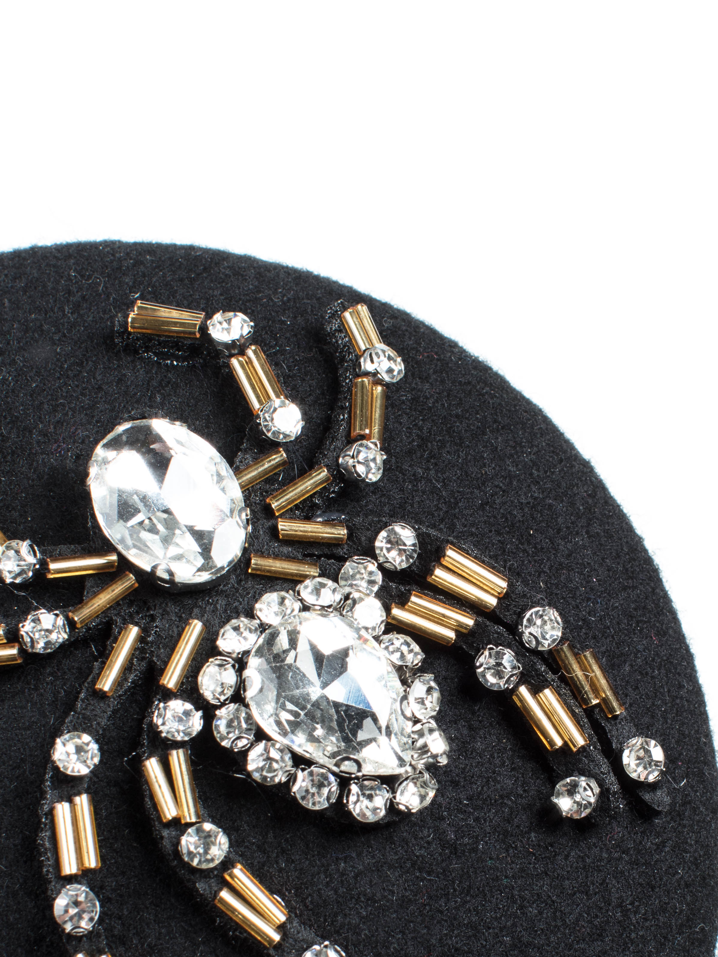 Blyton cocktail hat close up