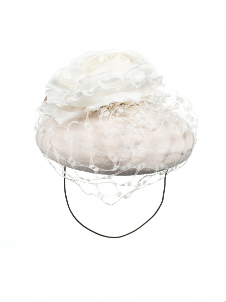 Bronte pillbox hat front view