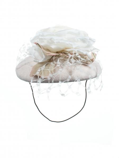 Bronte pilbox hat back view
