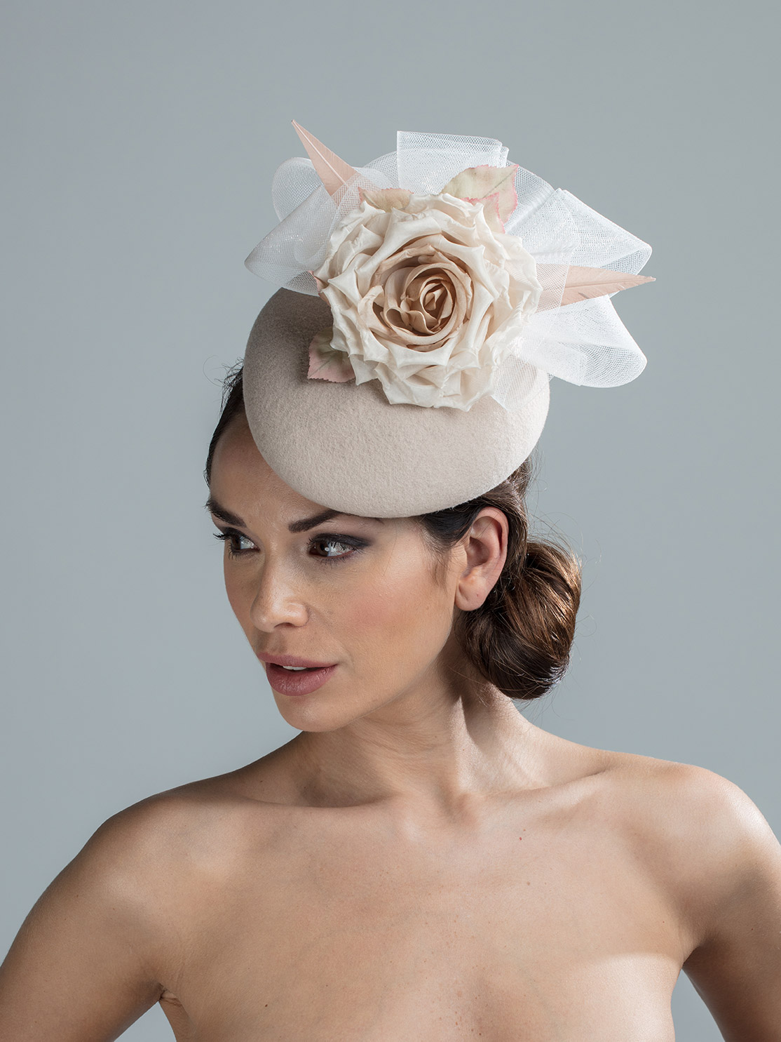 Cooper Pillbox hat by hostie hats