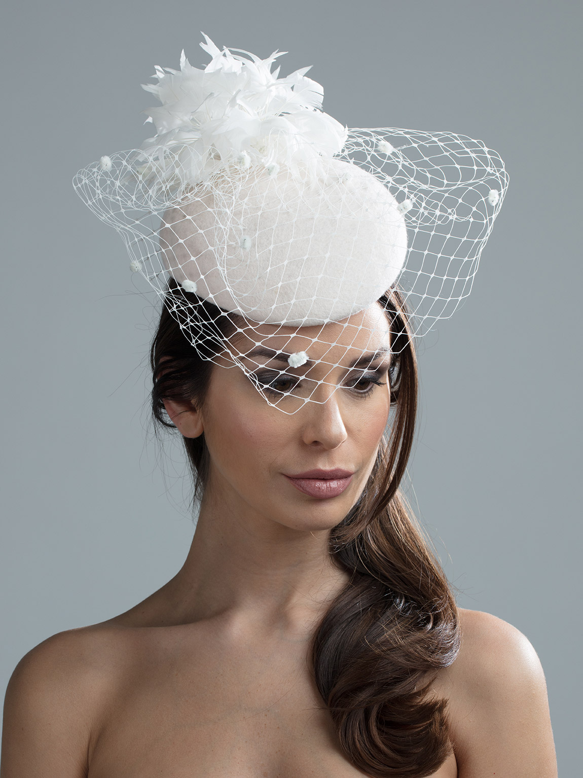 Lewis Pillbox Hat