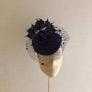 Lewis Pillbox Hat