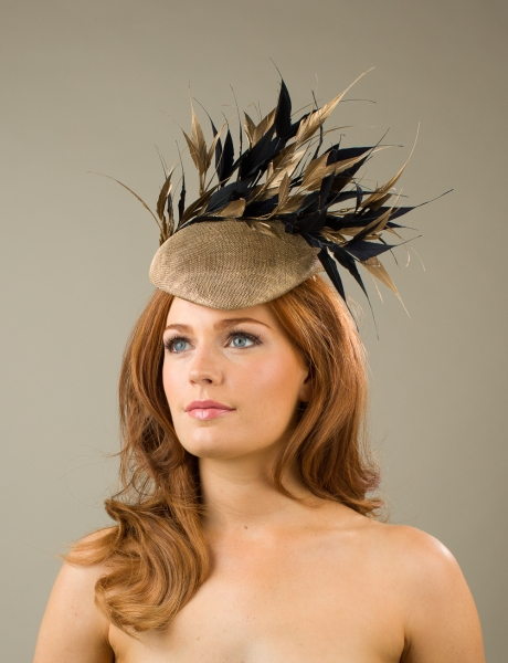 Alnwick Pillbox hat by Hostie Hats