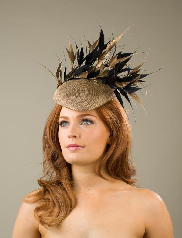 Alnwick Pillbox hat by Hostie Hats