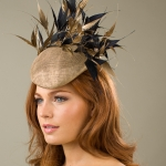 Alnwick Pillbox hat by Hositie Hats