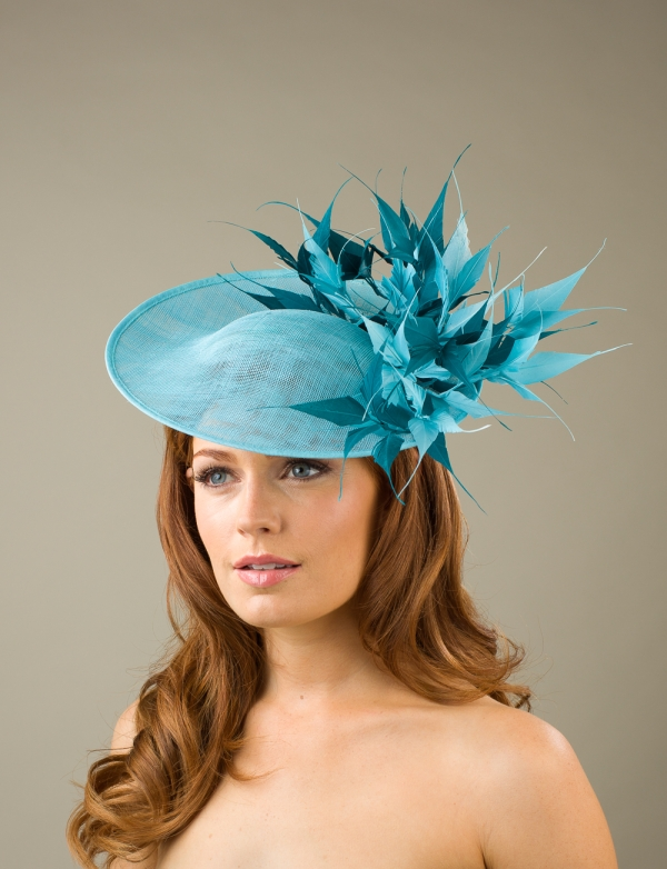 Arundel Dish Hat by Hostie Hats