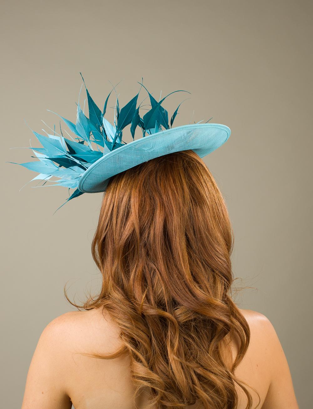 Arundel Dish Hat by Hostie Hats
