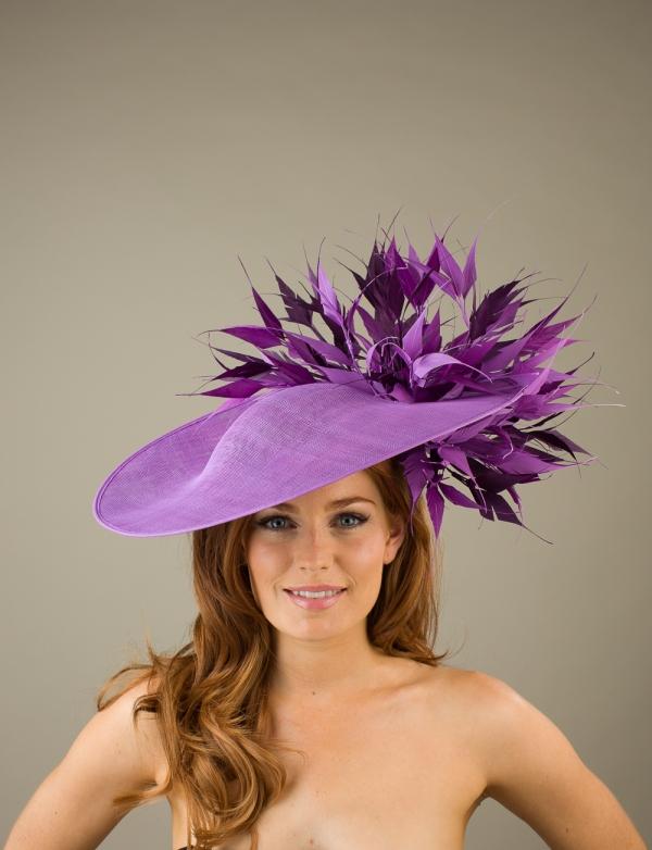 Bamburgh Dish Hat by Hostie Hats