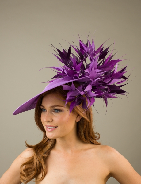 4a3db9c339cf4 Large Wedding Hats - Hostie Hats