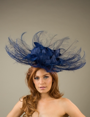 Beeston Fascinator by Hostie Hats
