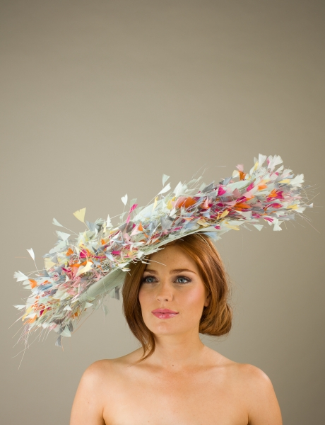 Buckingham Dish Hat by Hostie Hats
