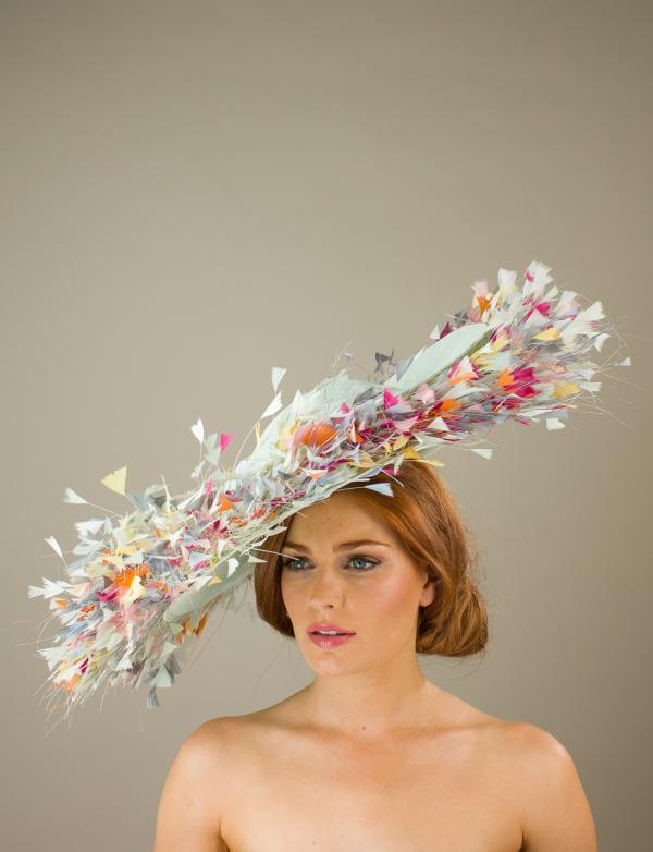 Buckingham Dish Hat by Hostie Hats
