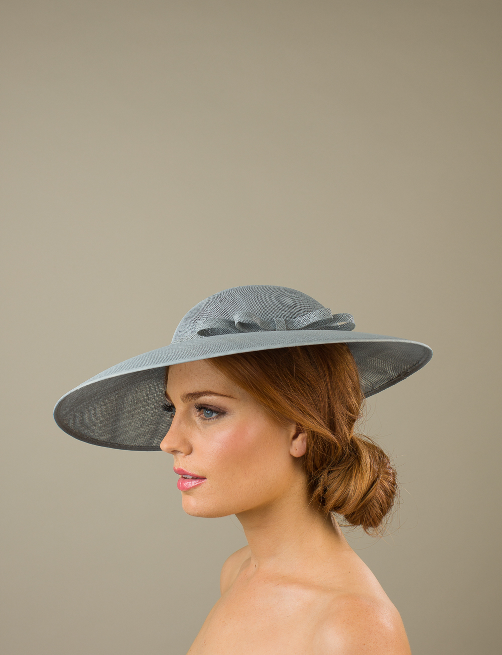 Carlisle Dish hat by Hostie Hats