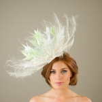 Chillingham Fascinator by hostie hats