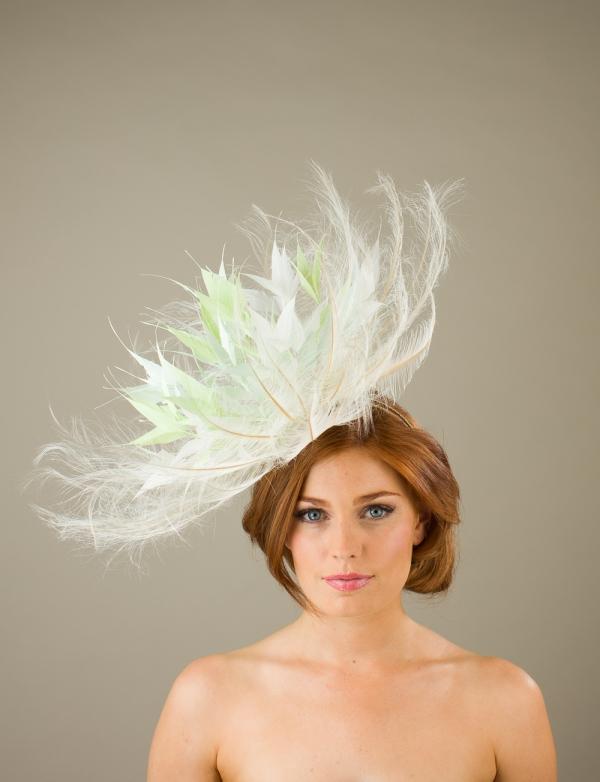 Chillingham Fascinator by hostie hats