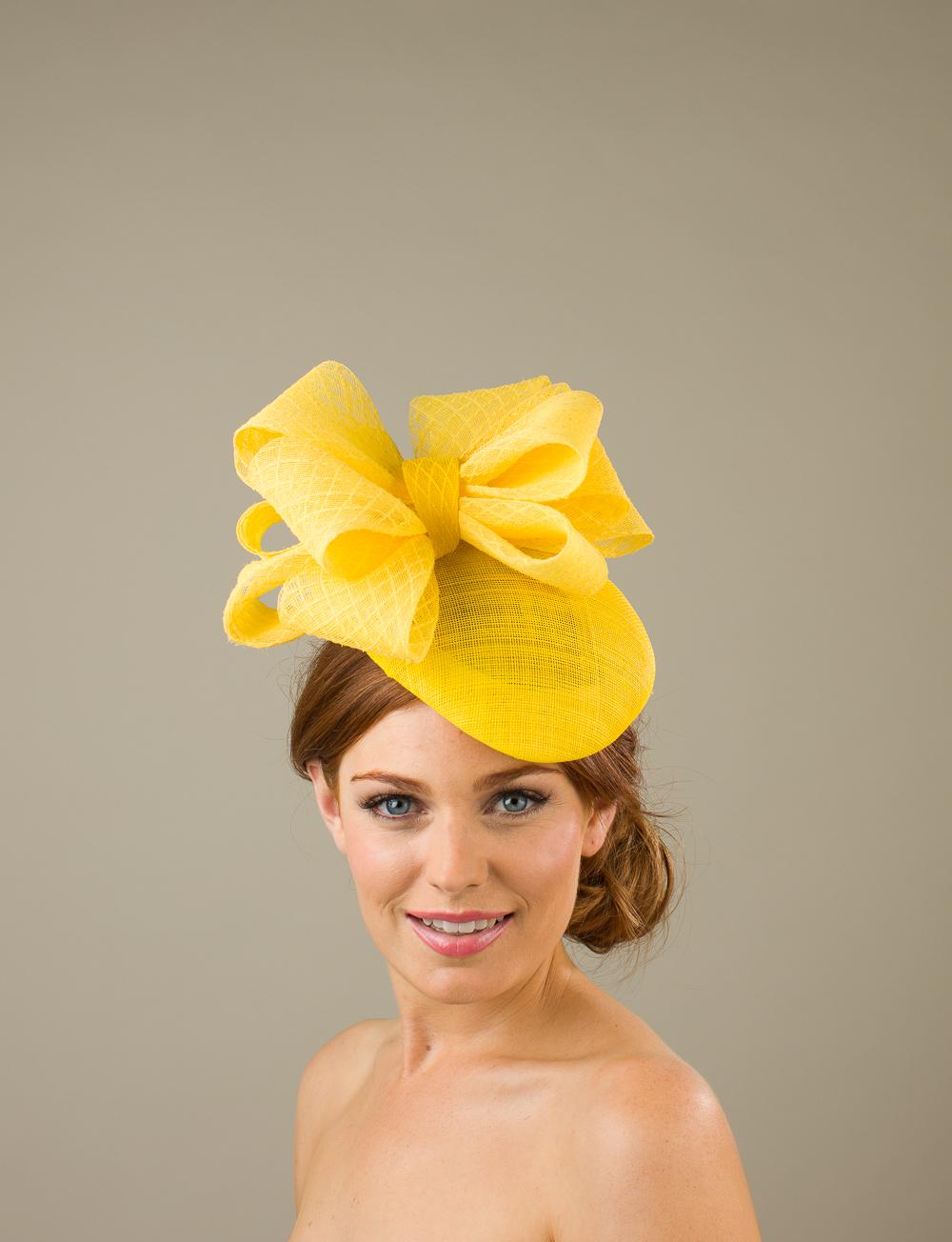Devises Pillbox hat by hostie hats