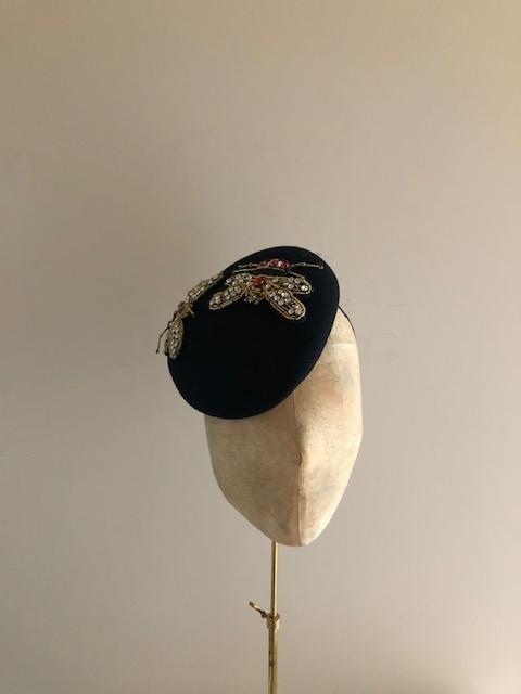 Flemming Pillbox Hat
