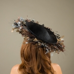 Mawes Dish Hat by Hostie Hats