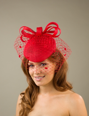 Penrith Pillbox hat by Hostie Hats