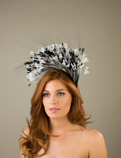 Tatershall Fascinator by Hostie hats